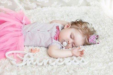 Дочка спала