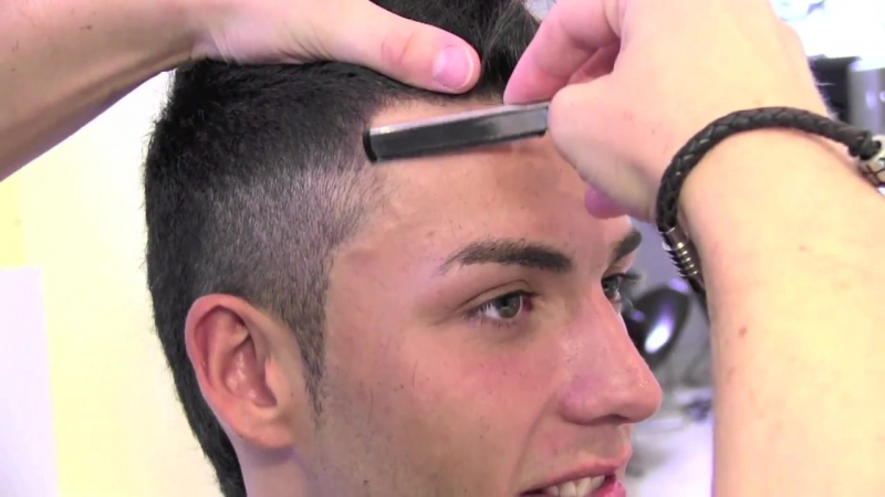 Slikhaar. Fresh hairstyle for soccer, sports and activities - Cristian