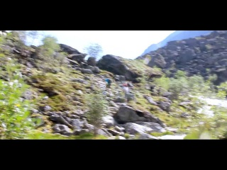 Горный Алтай. Озеро Аккем, гора Белуха