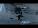 Manowar- Heart of steel. Клип про Skyrim(Бой с Алдуином)