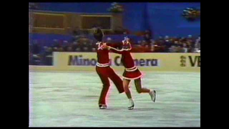 Moiseeva Minenkov (URS) - 1980 Worlds, Ice Dancing, Free Dance