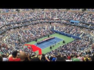 U.S. Open 2015 - God Bless America