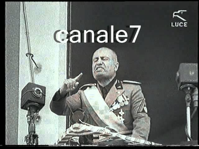 Storico discorso di Benito Mussolini a Lecce il 7 settembre 1934