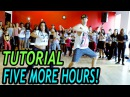 FIVE MORE HOURS - Chris Brown Deorro DANCE TUTORIAL | @MattSteffanina Choreography