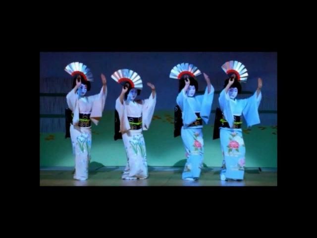Япония. Фестиваль танцев в Киото. Гейши. Майко. 舞妓