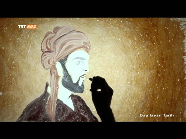 İbn-i Sina'nın Ebru Sanatıyla Sureti - Damlayan Tarih - TRT Avaz