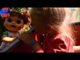 ✔ Кукла и Девочка Ярослава катаются на Детской Канатной Дороге. A Alive doll on the Cableway ✔
