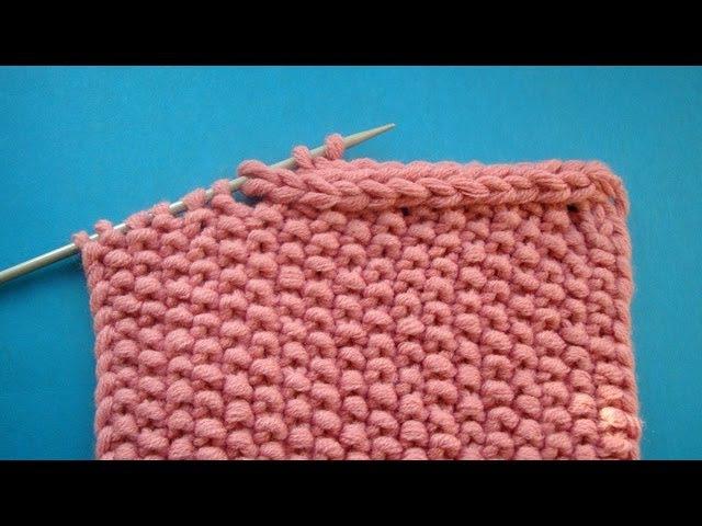 Bind off knitting Закрытие петель шнуром Вязание на спицах Урок 59