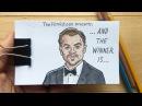 Leonardo DiCaprio Oscar Winning Flipbook Animation (Original)