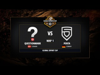 Questionmark vs Penta - Map 1 - @Global eSports Cup, Group B