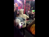 August 14: Fan taken video of Justin at the Orange County Fair in Costa Mesa, California