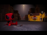 Funko Marvel Collector Corps Deadpool (February) Box Teaser
