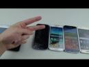 Роняем Samsung Galaxy S6, S5, S4, S3, S2 и S1