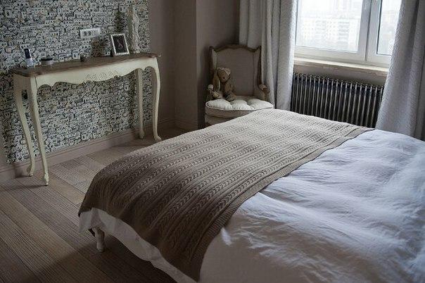 Спальня светлая и уютная
