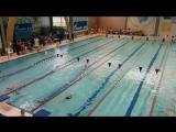Настюшка умничка!!! Комплексное плавание 200м. 2015-05-21