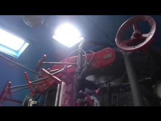 Краткий обзор кабины паровоза Л-3095