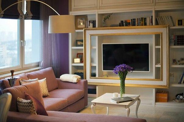 Светлая уютная квартира в стиле прованс