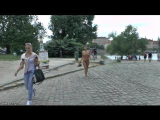 Natalie Nude in Public 1