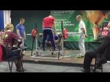 Иван Юдов, жим лёжа 125 кг