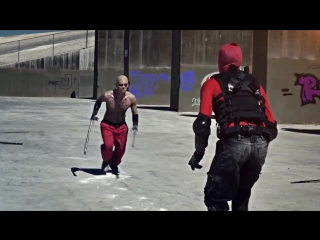 Дэдпул против Дэдпула из росомахи-Deadpool VS Deadpool- Dawn of Deadpool