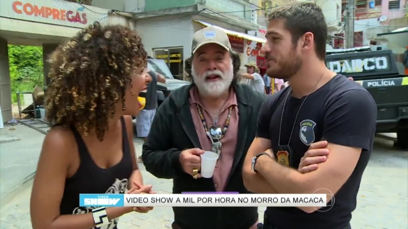 Tony Ramos elogia Marco Pigossi: 'Esse menino é muito bacana'