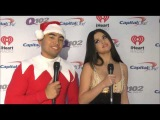 Selena Gomez Talks VSFashionShow, Favorite Christmas Carol & Revival Tour At Q102 2015 Jingle Ball