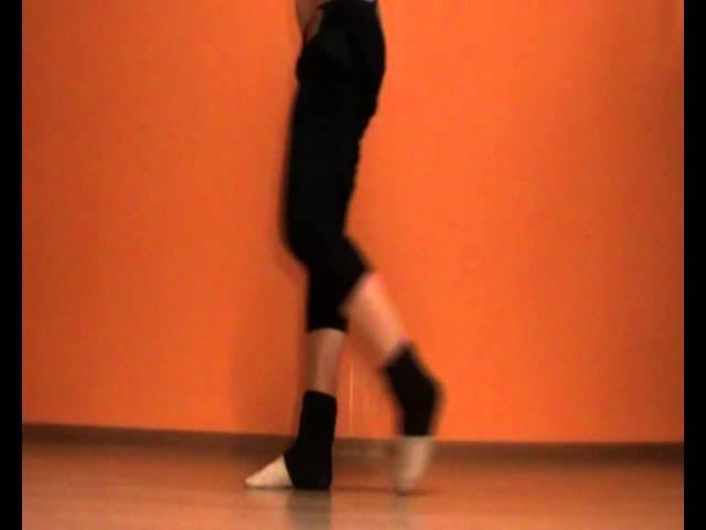 Обучение танцам от EHABY.Голеностоп.Очень полезный урок!