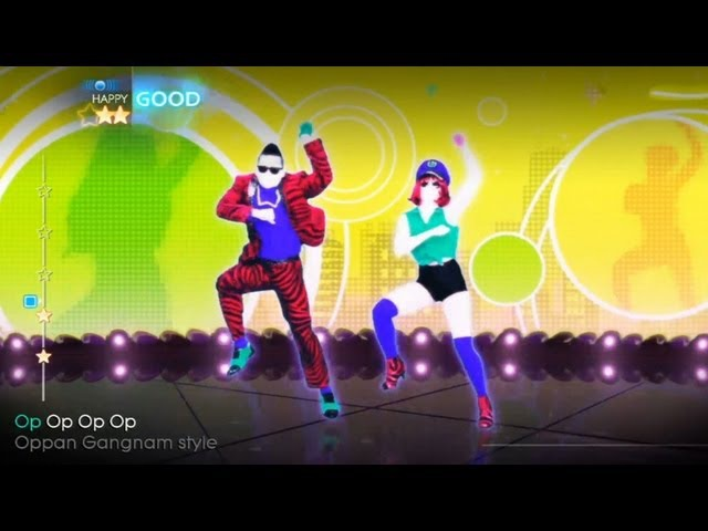Just Dance 4 : Gangnam Style (Psy)