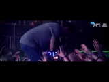Funny Man crowd surfing at Tele Club, Yekaterinburg 2014! Hollywood Undead - We Are LIVE