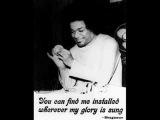 Sathya Saibaba sings