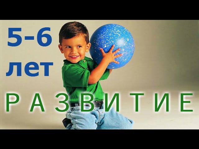 Развитие ребенка 5-6 лет: самое важное