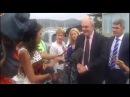 New Zealand politician Steven Joyce hit by sex toy.
