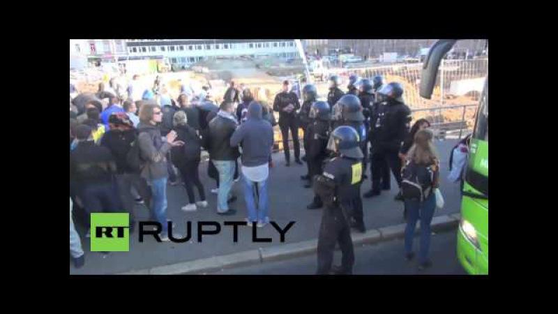 Ethnischer Asylanten Krieg Terror in Deutschland Multi Kulti Gewalt in Aktion