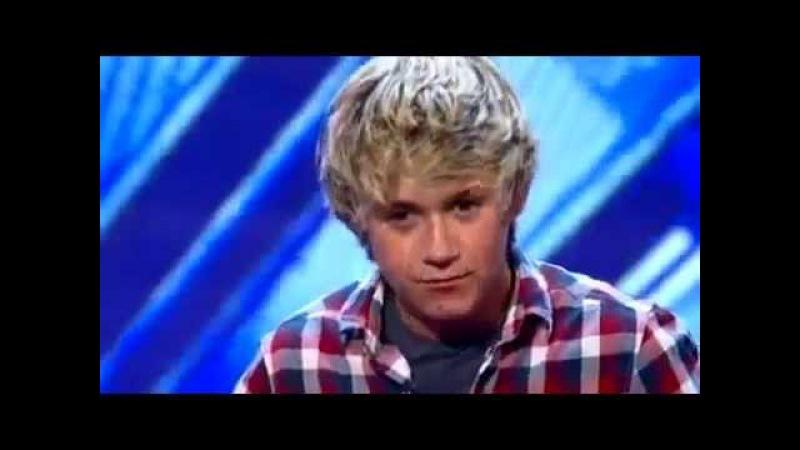 Прослушивание Найла Хорана на The X Factor UK