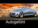 """Mercedes Autonomous Driving Car Concept F015 Luxury in Motion"""" overview Autogefühl"""