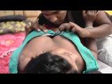 Desi Aunty Struggle to have romance on Bra || hindi Shortfilm