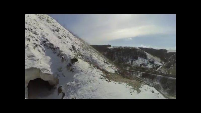 Пещера Шатрище г. Лиски, Воронежская область. ВелоЛиски