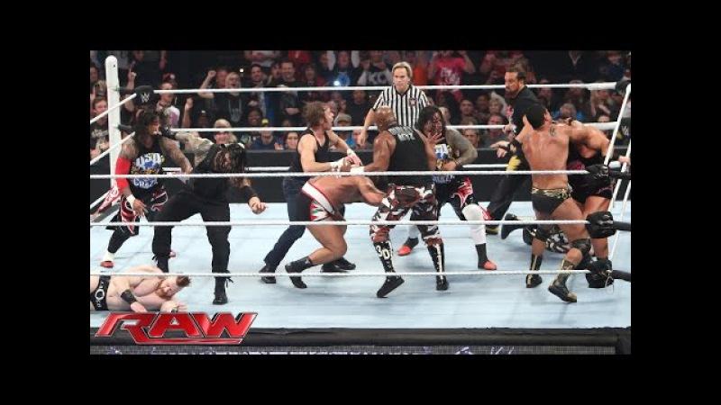 16-Man Elimination Fatal 4-Way Elimination Tag Team Match Raw, December 7, 2015