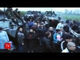 Расстрел мирных жителей на блокпосту в селе Андреевка украинскими силовиками