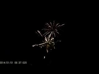 Салют на новый год,город Шарья 2016