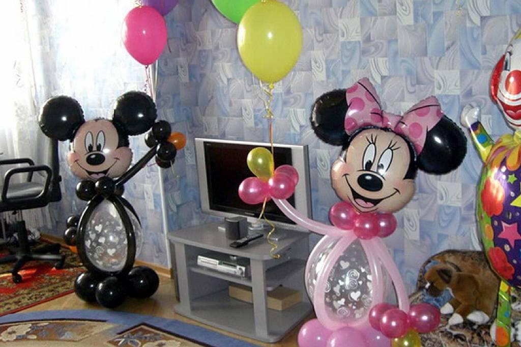 Украшение шарами своими руками в домашних условиях