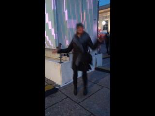 танец в Австрии 2)))