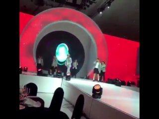 [FANCAM] 151013 EXO на LPGA KEB Hana Bank VVIP Event