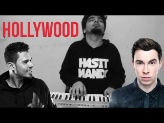 Afrojack & Hardwell - HOLLYWOOD (CRAZY PIANO COVER)