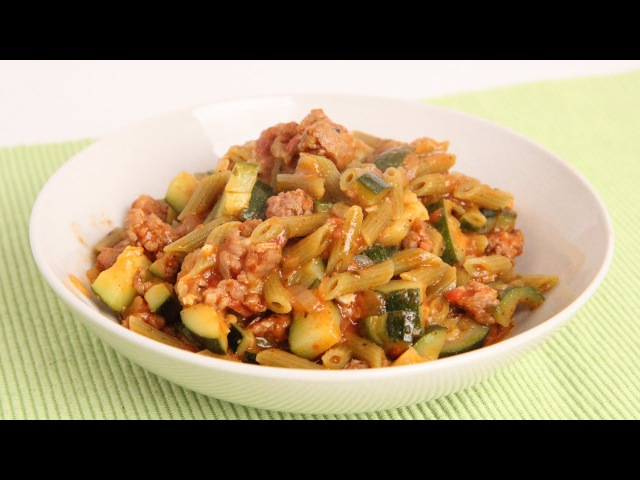 One Pot Pasta with Sausage Zucchini - Laura Vitale - Laura in the Kitchen Episode 903