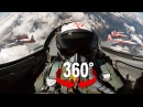 360° cockpit view | Fighter Jet | Patrouille Suisse | Virtual Reality