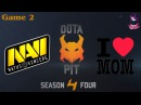 Highlights NaVi vs MB 2 bo2 Dota Pit S4 01.02.2016 Dota 2