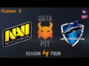 Highlights NaVi vs Vega 2 bo2 Dota Pit S4 31.01.2016 Dota 2