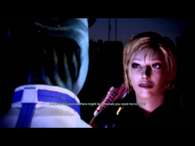 Liara is Jealous of Garrus's Calibrating!
