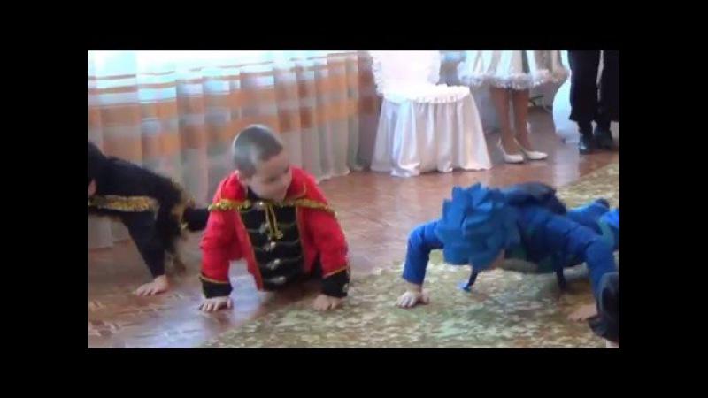 пгт Веселое, Танец мальчиков, Новогодний утренник 30 12 15 Запорожская область